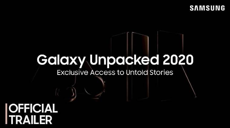 Samsung Galaxy Unpacked 2020 teaser video, Samsung, Samsung Galaxy Unpacked 2020, Galaxy Note 20 series, Galaxy Fold 2, Galaxy Tab S7, Galaxy Buds Live, Galaxy Watch 3