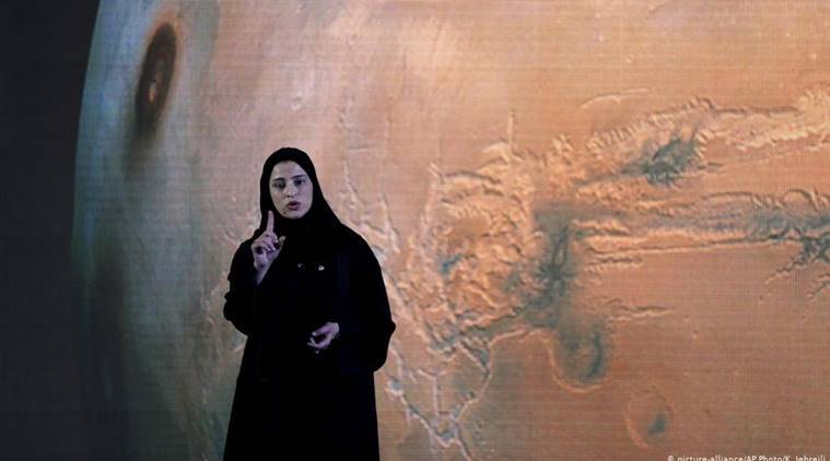 Sarah al-Amiri, woman leading UAE's Mars mission, Mars Mission, world news