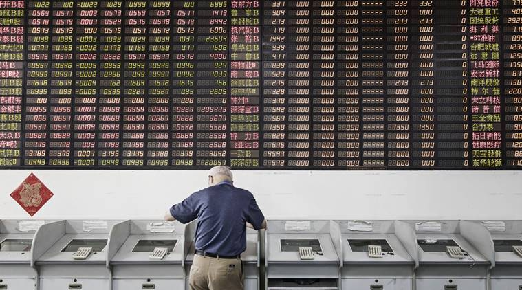 China, China stocks, China market, Shanghai Stock Exchange, China stock exchange, China investments, China coronavirus news, Indian Express