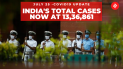 Coronavirus on July 25, India's total Covid-19 cases now at 13,36,861