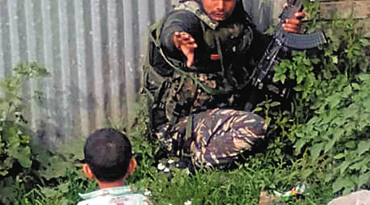 J&K: 3-yr-old watching, his grandfather and CRPF head constable killed in Sopore