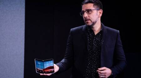 surface duo, microsoft surface duo, surface duo price in india, surface duo launch in India, surface duo features, surface duo Android