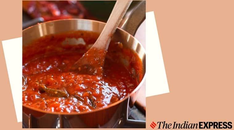 suvir saran, chef suvir saran, easy tomato chutney, suvir's slice of life, chutney recipes