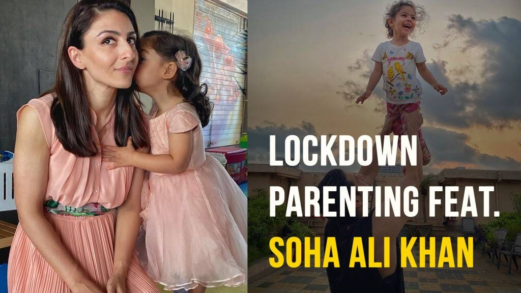 Soha Ali Khan: 'Moms, remember to prioritize yourself too!'