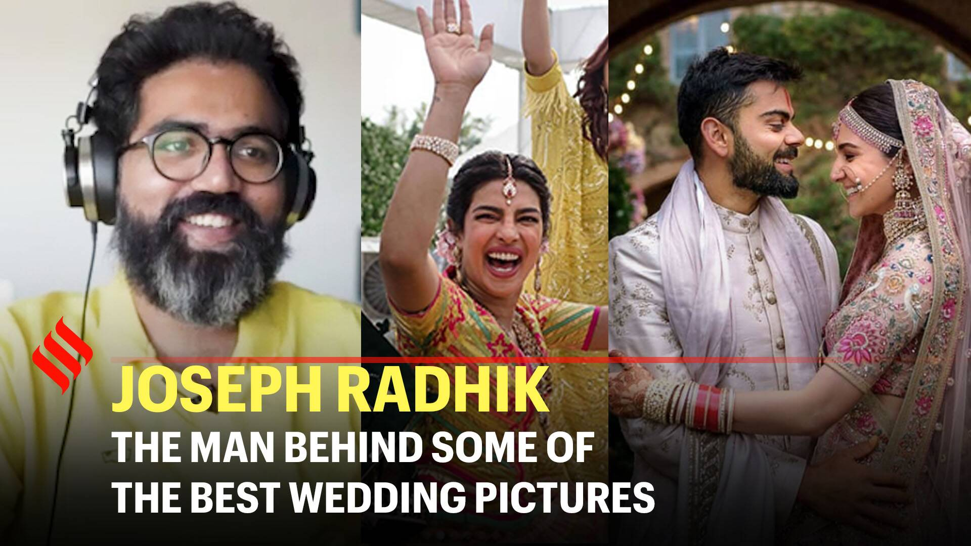 Big or small weddings, we capture the essence of love: Celebrity wedding photographer Joseph Radhik