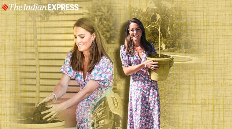 Kate Middleton. Kate Middleton fashion, Kate Middleton gardening, Kate Middleton summer fashion, indian express news