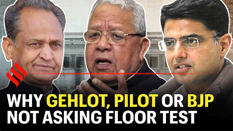 Rajasthan Crisis: Why Ashok Gehlot, Sachin Pilot or BJP are not asking for floor test