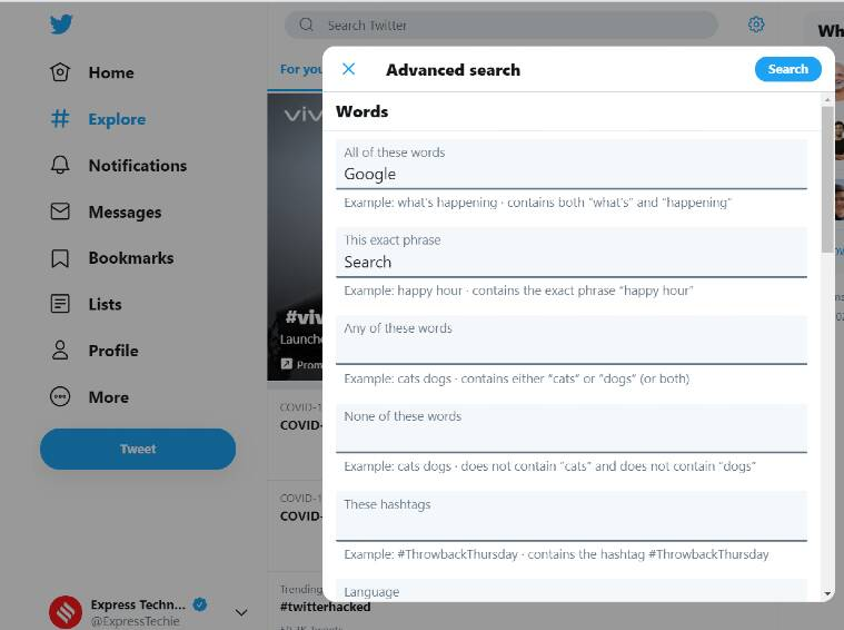 twitter, twitter tips, how to use twitter advanced searches, twitter advanced searches tool, how to master twitter search