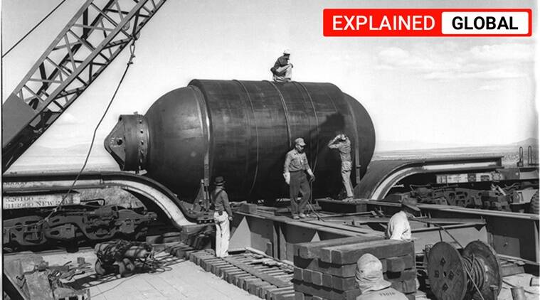 US nuclear test, US Gadget Bomb, The Manhattan project, Manhatattan project US, US Atomic Bomb test, Express Explained