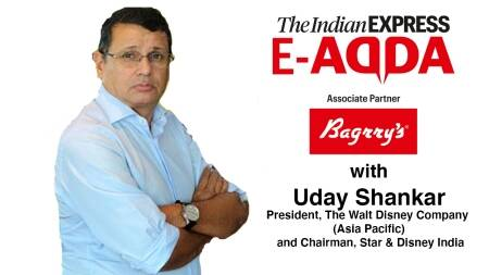 Express E-Adda with Chairman, Star & Disney India - Uday Shankar