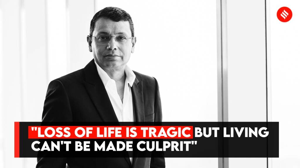 "Uday Shankar: ""Loss Of Life Is Tragic But Living Can't Be Made Culprit"""