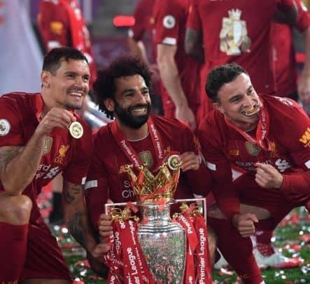 Liverpool FC, Liverpool FC lift Premier League, Premier League Trophy, Liverpool celebration images, pictures of Liverpool, Premier League 2020