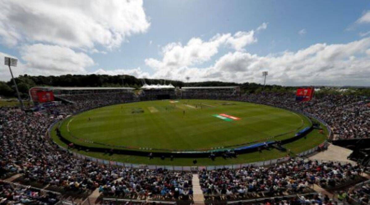 England v West Indies - The Ageas Bowl, Southampton, Britain. General view during