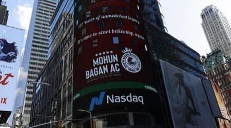 Mohun Bagan day, Mohun Bagan Nasdaq, Mohun Bagan on Nasdaq