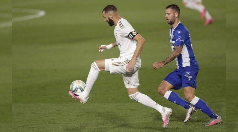 Real Madrid Beats Deportivo Alaves 2 0 For 8th Straight Win In Title March Sports News The Indian Express