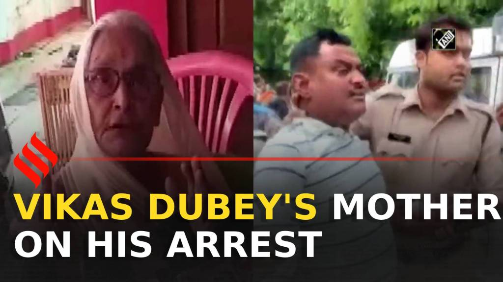 Govt should take necessary action: Vikas Dubey's mother on his arrest