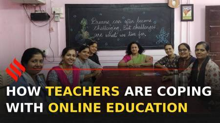 How teachers are coping with online education