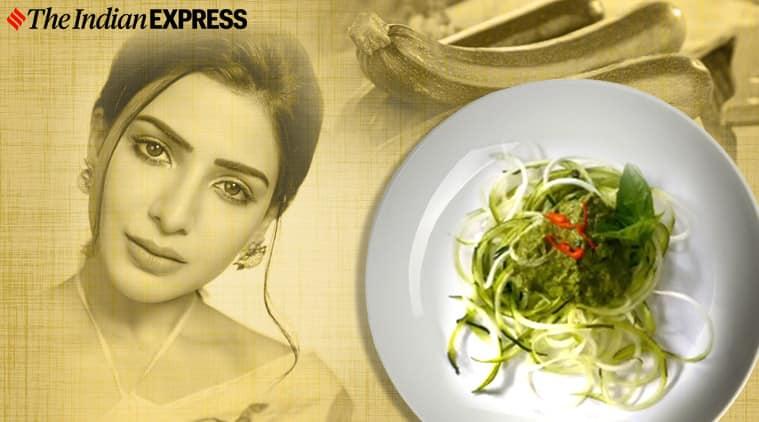 Samantha Akkineni, zucchini noodles