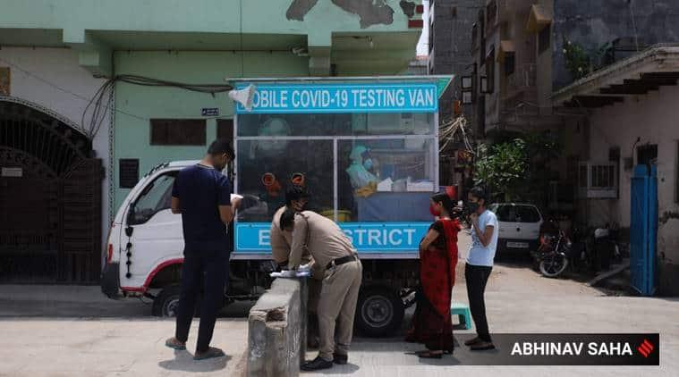 Coronavirus mobile testing centres