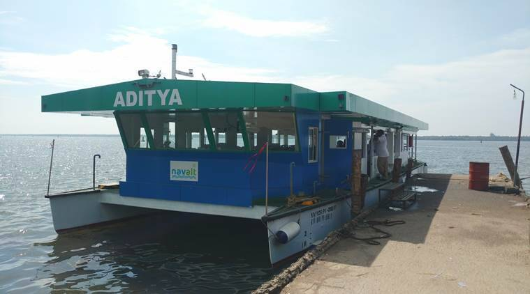 aditya wins Gustave Trouve Award, solar powered ferry, passenger ferry wins Gustave Trouve Award, aditya wins global award, solar power technology, indian express