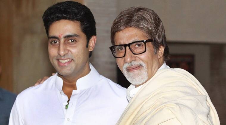 Image result for amitabh and abhishek