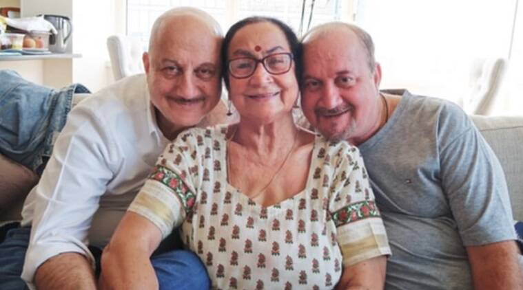 Bollywood actor Anupam Kher on Sunday took to Twitter to share that his mother Dulari, brother Raju, sister-in-law Rima and niece Vrinda have tested p