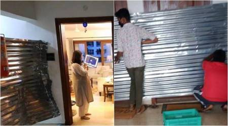 Bengaluru: BBMP seals apartment door, removes metal sheet after picture goes viral