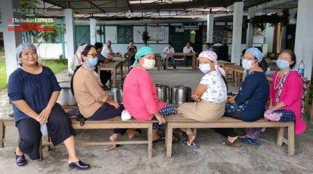 Bhalukpong Women's Langar: Serving hot meals to an army of frontline workers