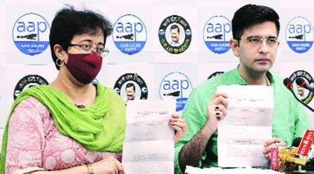 North body sends notice to Atishi, Chadha over 'corruption' attack
