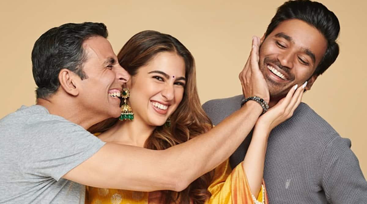 Atrangi Re: Akshay Kumar, Sara Ali Khan and Dhanush to resume shoot from  October   Entertainment News,The Indian Express