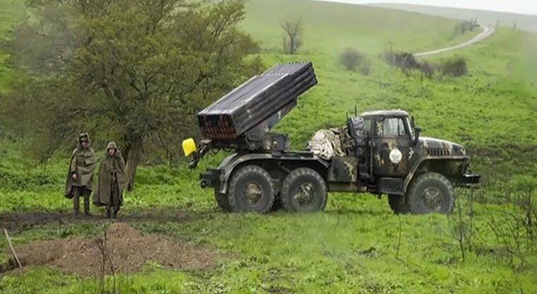 Armenia and Azerbaijan forces fought Tuesday with heavy artillery and drones, leaving at least 16 people killed on both sides, including an Azerbaijan