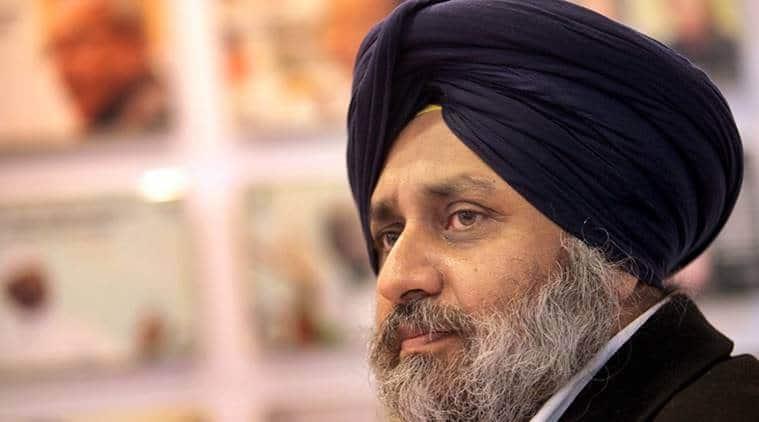 Sukhbir Singh Badal, wheat marketing, paddy marketing, punjab wheat marketing, punjab paddy, indian express news