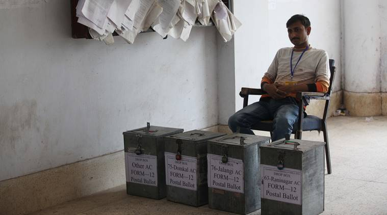 postal ballots, what are postal ballots, postal ballots controversy, Covid postal ballots, postal ballots voting, bihar elections, Indian Express