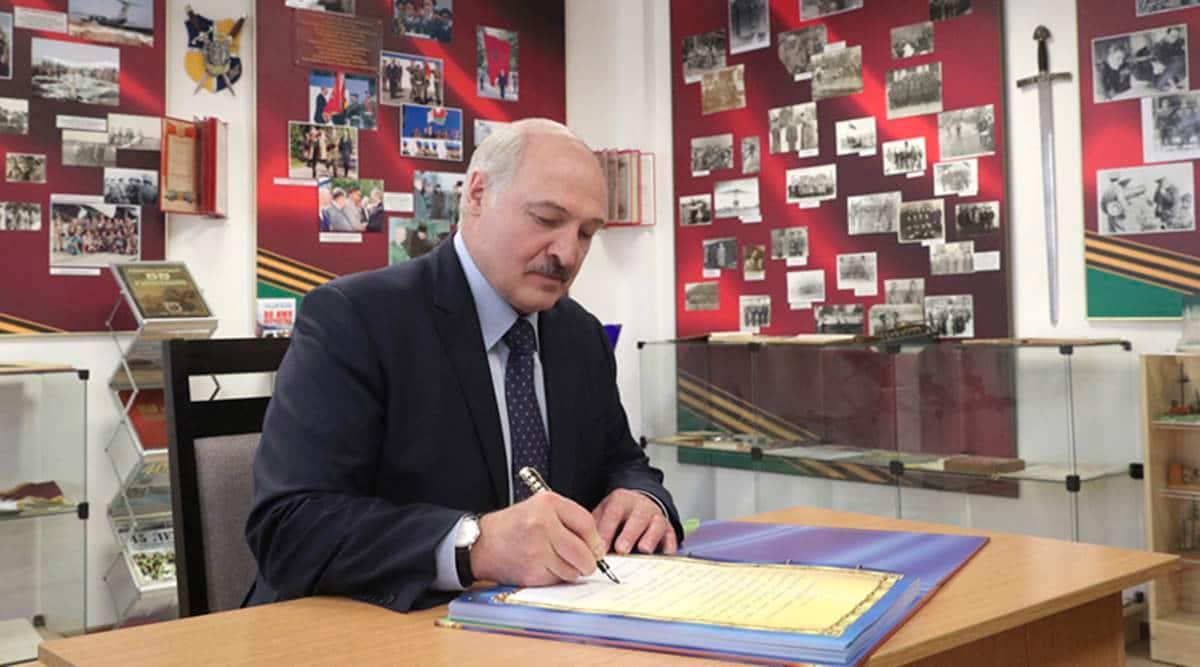 Belarus president coronavirus, Alexander Lukashenko, Alexander Lukashenko coronavirus, coronavirus news, coronavirus latest update, indian express