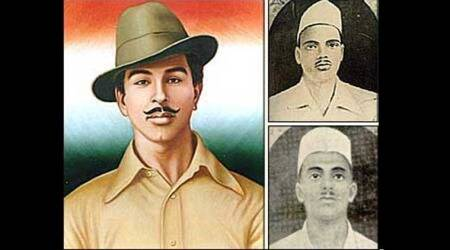 india freedom fighters, bhagat singh, rajguru, sukhdev, marathhi textbook controversy, marathi textbooks drop sukdev name, marathi textbook dop sukdev name from freedom fighters, Indian express news