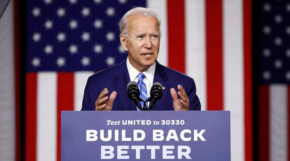 joe biden, russian interference, russian interference in US election, US election 2020, Indian Express