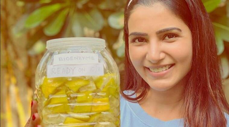 bioenzymes, how to make your own bioenzymes, DIY bioenzymes, citrus peels, how to use lemon peels, samantha ruth prabhu environment, eco-friendly, indianexpress.com, indianexpress,