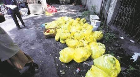 Bombay High Court, Bombay High Court on COVID waste, Bombay High Court on COVID bio-medical waste, Mumbai news, city news, Indian Express