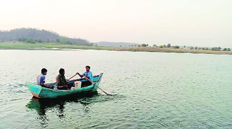 Pradipsinh Jadeja, Gujarat Fisheries Act 2003, gujarat sea, gujarat boats, outside state boats to be fined by gujarat government, outside state boat ban in gujarat, indian express news