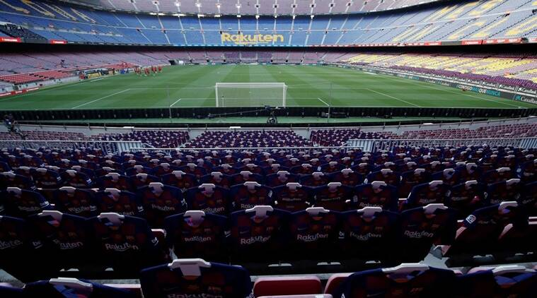 No fans at La Liga stadiums for rest of the season, say organisers