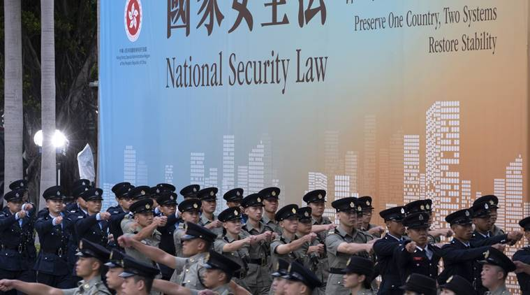 Here's how China's law is already changing the face of Hong Kong