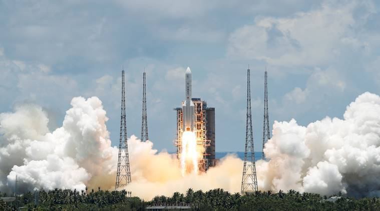 China's independent Mars mission Tianwen-1 takes off from Hainan