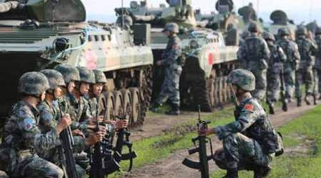 military digest, pla, peoples liberation army, western theatre command, india china border dispute, india china relations, indian express