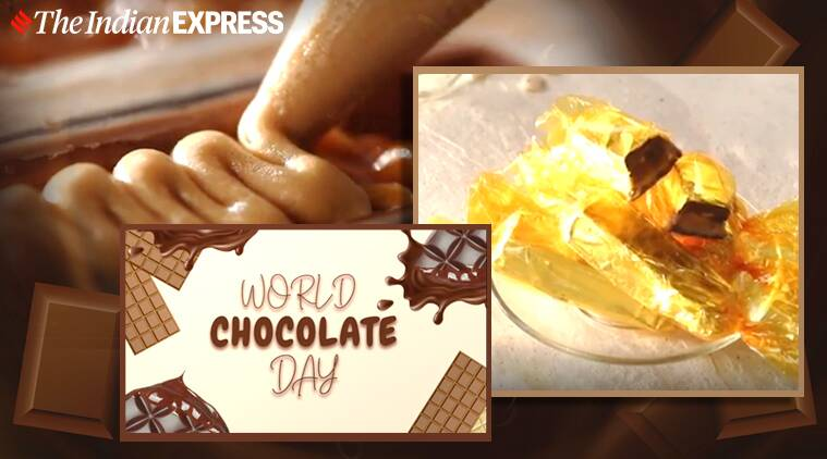 world chocolate day, chocolate peanut bar, easy recipe, sanjeev kapoor recipes, indianexpress, indianexpress.com