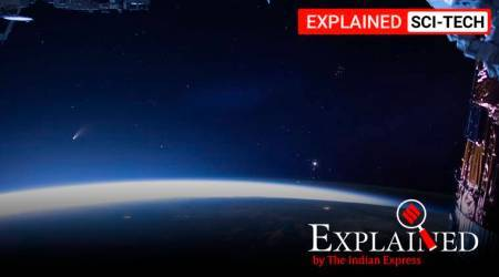 Comet C/2020 F3 Neowise, Comet near earth, Neowise comet, what is a comet, comet pictures, comet video, indian express