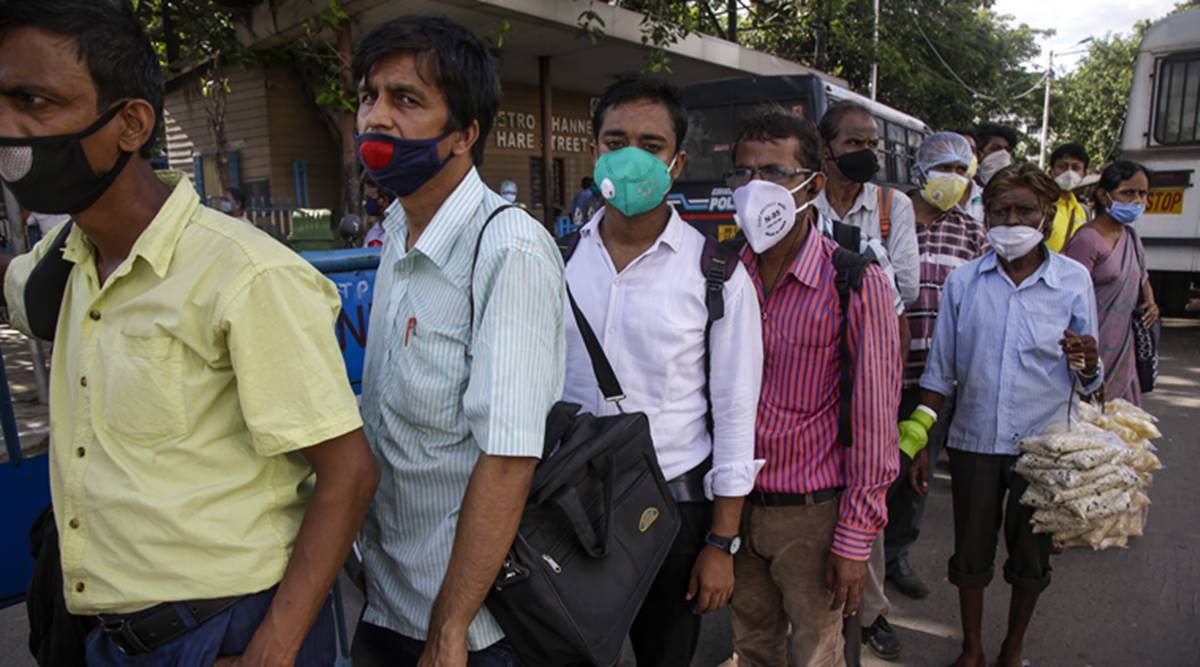 Kolkata coronavirus cases, Kolkata covid cases, Kolkata covid tally, West Bengal covid cases, Kolkata news, city news, Indian Express