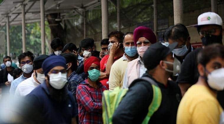 coronavirus mask, shimla coronavirus mask, shimla fine for no mask, coronavirus mask fine himachal pradesh, shimla coronavirus update, indian express