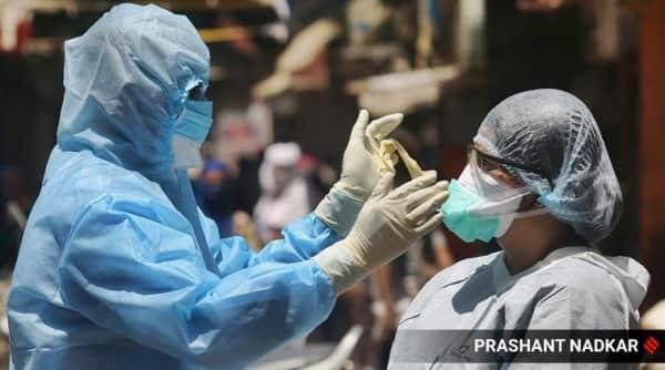 mumbai coronavirus news update, mumbai covid-19 cases, mumbai covid cases toll, mumbai 7.9 percent population covid positive, indian express news