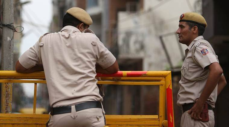 Malviya Nagar man falls from building, Malviya Nagar man falls from building rescued, south delhi man falls from building rescued, delhi police, delhi city news