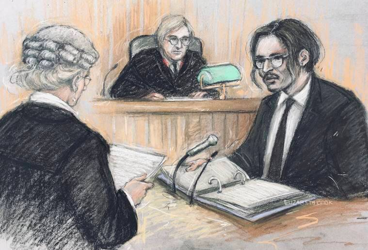 johnny depp, amber rose, johnny depp amber rose legal dispute explained, johnny depp sues the sun, johnny depp assault, amber rose defamation case, indian express